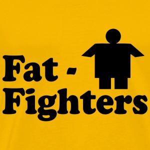 Fat Fighters Club - Men's Premium T-Shirt