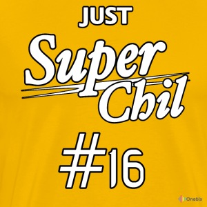SuperChil shirt - Premium T-skjorte for menn