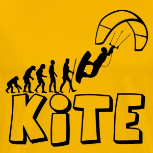 Kite Kiteboarding Evolution - Männer Premium T-Shirt
