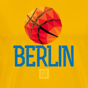 Berlin Let`s GOOOO - Premium T-skjorte for menn