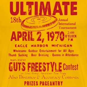 ULTIMATE TEE SHIRT CONTEST - Herre premium T-shirt