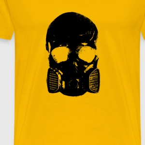 anti gas skull - Men's Premium T-Shirt