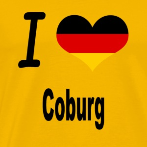 I Love Germany Home Coburg - Männer Premium T-Shirt