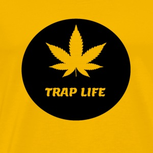 Life 420 Blaze It Weed traplife - Männer Premium T-Shirt