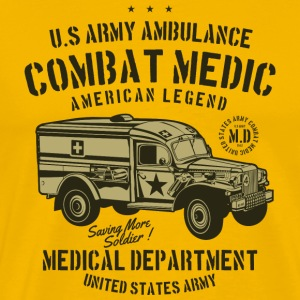 Medical Department Combat Medic - Men's Premium T-Shirt