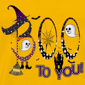 Halloween Boo To You - Premium T-skjorte for menn