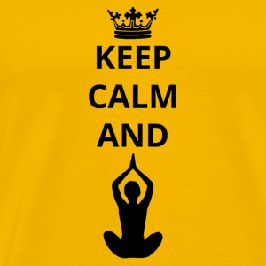 geschenk keep calm and yoga 7 png