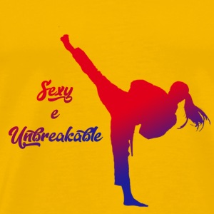 sexy and unbreakable - Men's Premium T-Shirt