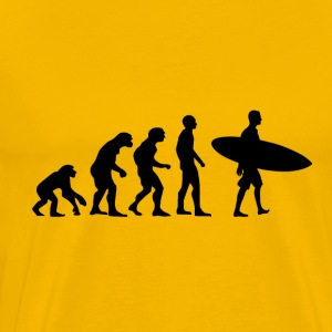 Evolution Surfer - Männer Premium T-Shirt