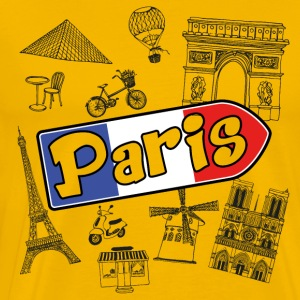 I love Paris - Men's Premium T-Shirt