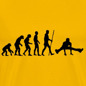 evolutie Breakdance - Mannen Premium T-shirt