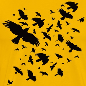 Black Crows - Men's Premium T-Shirt