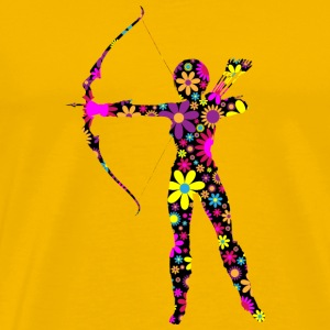 archery arrow bow crossbow target sports43 - Men's Premium T-Shirt