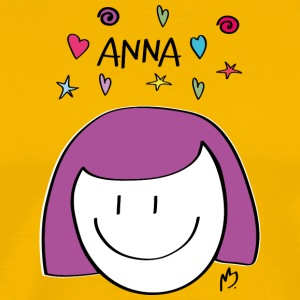 "Girl ""ANNA"" - Men's Premium T-Shirt"