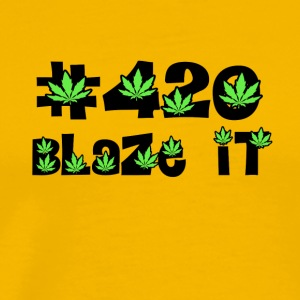 420 blaze it all day kiffen - Men's Premium T-Shirt