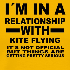 Relationship with KITE FLYING - Men's Premium T-Shirt