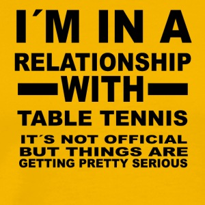 Relationship with TABLE TENNIS - Men's Premium T-Shirt