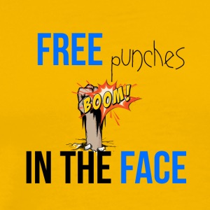 Free punches in your face - Männer Premium T-Shirt