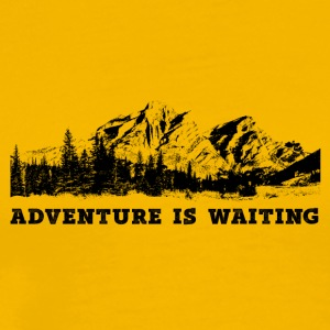 Mountain Adventure - Herre premium T-shirt