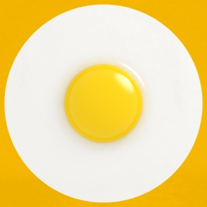 fried egg - Men's Premium T-Shirt