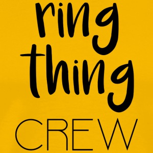 Ring Thing Crew - Mannen Premium T-shirt