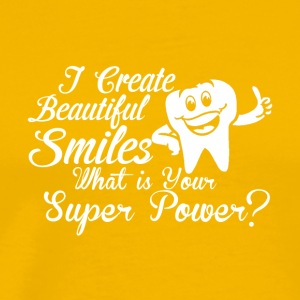 I create Beautiful Smiles - Men's Premium T-Shirt