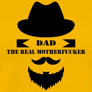 DAD The Real Motherfucker - Men's Premium T-Shirt