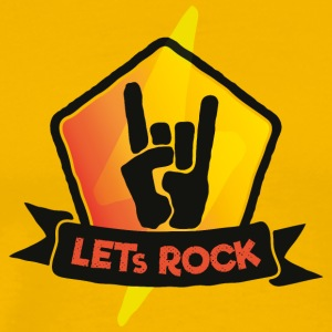 Let's Rock - Festival Summer, Music and Party (o) - Herre premium T-shirt