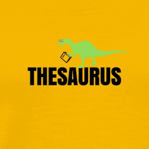 Meet the thesaurus - Men's Premium T-Shirt