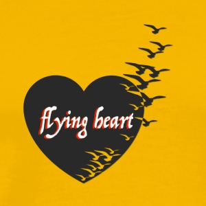 flying heart - Männer Premium T-Shirt