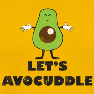 Fruit / Fruit: Avocado - Avocuddle - Men's Premium T-Shirt