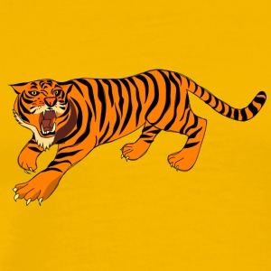 Tiger, tigers, - Men's Premium T-Shirt