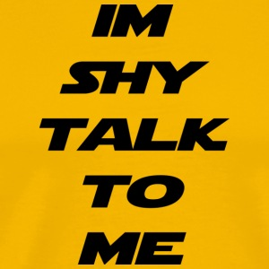 im shy - Men's Premium T-Shirt