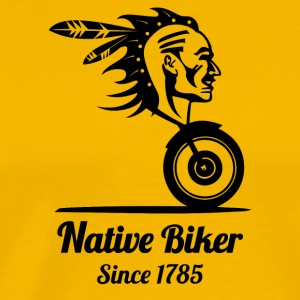 nativebiker blak - T-shirt Premium Homme