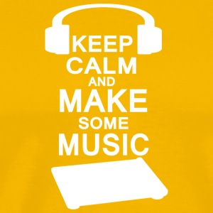 KEEP Kalm Makemusic - Premium T-skjorte for menn