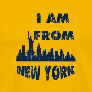 I am from New york I am from