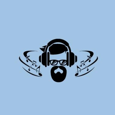 f236a790 Festival musik illustration fest Premium T-shirt mænd | Spreadshirt