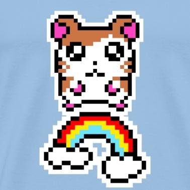 Chaton Chat Cat Pixel Pixelart Mug Blanc Blanc