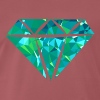 Diamond (Low Poly) - Men's Premium T-Shirt