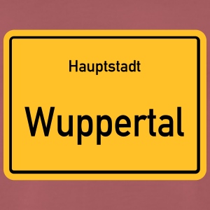 kapital Wuppertal - Premium T-skjorte for menn