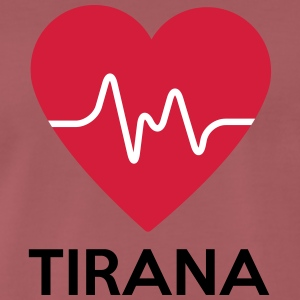 heart Tirana - Men's Premium T-Shirt