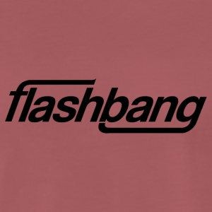 Flash Bang simple - 25kr don - T-shirt Premium Homme