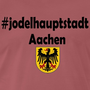 Jodel capital Aachen - Men's Premium T-Shirt
