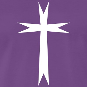 Christian cross - Premium-T-shirt herr