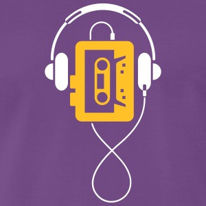 A Classic Walkman - Men's Premium T-Shirt