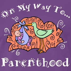 Pregnant On My Way To Parenthood - Men's Premium T-Shirt
