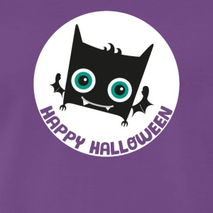 Sweet Happy Halloween Cute bat - Men's Premium T-Shirt