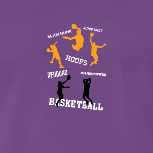 basketbal - Mannen Premium T-shirt
