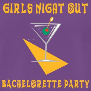 Bachelorette Party Girls Night Out - Miesten premium t-paita