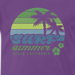 Surf Summer Beach California T-shirt - Men's Premium T-Shirt